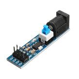 3Pcs AMS1117 5V Módulo de fonte de alimentação com DC Tomada E interruptor