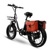 [EU Direct] CMACEWHEEL Y20 48V 24Ah 750W 20in Sepeda Listrik Lipat dengan Tas 45km / h Kecepatan Maksimum 100km Range E Sepeda