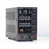 Wanptek DPS605U 110 В / 220 В 4 цифры Дисплей Регулируемый источник постоянного тока 0-60 В 0-5A 300 Вт USB быстрая зарядка Лабораторный импульсный источник п