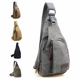 Vintage Style Men Canvas Shoulder Casual School Messenger Travel Bag Crossbody