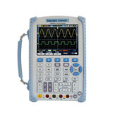 Hantek DSO8060 Handheld Oscilloscope DMM Spectrum Analyzer Frequency Counter Waveform Generator