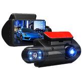 3インチ1080P車のDVRモーション検出ナイトビジョンダッシュカムループ記録検出器