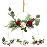 15.7 Inches Kunstbloemen Kransen Deur Perfecte Kunstmatige Garland voor Bruiloft Deco Supplies Home Party Decor