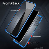 Bakeey 360º Front+Back Double-sided Full Body 9H Tempered Glass Metal Magnetic Adsorption Flip Protective Case For Xiaomi Mi 9 / Xiaomi Mi9 Transparent Edition Non-original