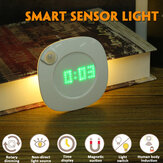 LED Smart Sensor Light Digital Reloj Armario de cocina Armario IR Inducción Lámpara
