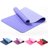 6MM Thicken Non-Slip Texture Professional Yoga Mats w / Carrying Bag Home Pilates Workout Fitness Mat
