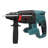 Blue Electric Brushless Rotary Hammer Impact Drill Tool 3 Function Fit For 18V Makita Battery