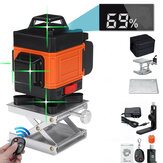 16 Lines 3D 360° Green Laser Level Self-Leveling Cross Line Horizontal LCD Tool