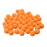 50 stk. orange runde udskift ball til Nerf Rival Apollo Zeus Toys