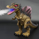 Walking Dinosaur Spinosaurus Light Up Kids Toys Figure Sounds Real Movement LED