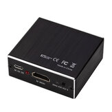 GRWIBEOU HDMI Audio Splitter HDMI na HDMI + 3.5 Audio + SPDIF 4K HDMI Audio Video Converter