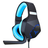 SUTAI G600 Game Headphone USB Wired Surounding Sound Bass Gaming Headset with Mic for Computer PC PS4 Gamer