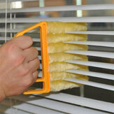 Jendela Microfibre Shutters Cleaning Brush Vents Clean Air Conditioning Cleaner dengan 7 Slat Handheld Alat Rumah Tangga