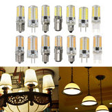 G4 G8 G9 E11 E12 E17 BA15D 3W Dimmable LED Light Bulb 4014SMD Silicone Lamp AC110V