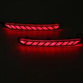 Indicatore di direzione posteriore a LED Freno DRL Flash Indicatori di direzione Indicatore di fumo nero lente per Subaru Forester 2008-2019