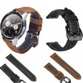 Bakeey 22mm Vera Pelle Strap Replacement Watch Banda per Huawei Honor magic