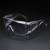 Bakeey Outdoor Transparent Goggles Anti-fog Anti-droplet Spread Dust -proof Impact Windproof Protecting Glasses
