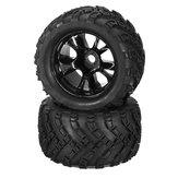 DHK Hobby 8384-001 Radreifen Reifen Felge komplett 2 Stück 1/8 8384 Zombie 8E RC Autoteil