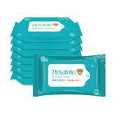 Bakeey Disinfection Antiseptic Pads 75% Alcohol Wipes Watch Phone Cleaning Wet Wipes Sterilization First Aid Tool