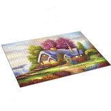 1000 Stück Landschaftsarchitektur Szene Serie Dekompression Puzzle Spielzeug Spielzeug für den Innenbereich