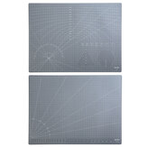 Deli 78402 A2 A3 Grey PVC Cutting Mat Paper Cutting Project Work Pad Board with Scale Handmade DIY Patchwork Tools