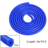3m Long Blue Silicone Vacuum Mangueira Turbo Air Intercooler Coupler Pipe 3mm