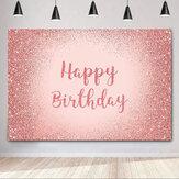 Фон для фотосъемки на день рождения Розовый золотой С блестками фон для Для взрослых Женское украшения для дня рождения фото фоны для будк