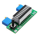 3pcs Blue LM3914 Battery Capacity Indicator Module LED Power Level Tester Display Board