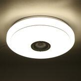 2.4GHz bluetooth LED Tavan Işığı 256 RGB Müzik Speeker Kısılabilir Lamba + Uzakdan Kumanda