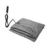 145x100cm 24V Car Electric Blanket Heated Fleece Travel Throw Fleece Cosy Warm Winter