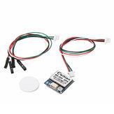 BN-200ChipsetM8030pequenodotamanho Módulo GPS Antena GPS GLONASS Módulo duplo de GNSS com FLASH de 4M 20mmx20mmx6mm