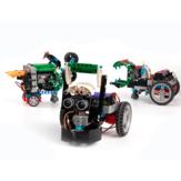 KittenBot - Juego de bloques de construcción programables 12 en 1, robot competitivo inteligente Coche para niños