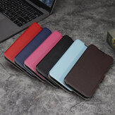 Bakeey for POCO M3 Case Litchi Pattern Magnetic Flip Shockproof PU Leather Full Body Protective Case