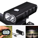 XANES DL17 1000LM T6 LED Bike Light Headlight 3 Modes 18650m Battery USB Rechargeable Waterproof