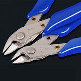 JB105 / JB106 Com Longos Eletrônicos Clippers Mini Diagonal Alicates Modelo de Manutenção Elétrica Alicates De Plástico Alicate Nariz Oblíqua
