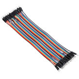 200pcs 20cm Color macho a macho Breadboard Jumper Cable Dupont Alambre