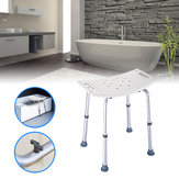 Sedia da doccia portatile Sedia regolabile da 8 sedie da bagno con sgabello ad altezza regolabile
