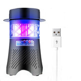 3W Electronic Mosquito Killer Lamp USB Insect Killer Lamp Bulb Pest Trap Light For Camping