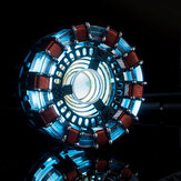 MK1 Acrylic Tony DIY Arc Reactor Lámpara Kit Arcylic Iluminante LED Flash Juego de luces