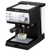 Donlim DL-KF6001 850W Máquina de café semi-automática completa Espuma de leite a vapor Comercial para casa instantâneo