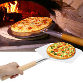 Alüminyum Pizza Spatula Peel Kürek Kek Kaldırıcı Kap Tutucu BARBEKÜ Izgara Fırın Soba Pişirme Parçalar