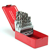 38pcs 1-13mm HSS Twist Drill Bit Set with Case for Steel