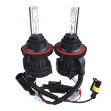 55W 9004 Dual Beam High Low HID Bi-xenon Bulbs DC12V Car Headlight Kit