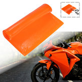 Cool Seat Cushion Gel Pad Mat Absorption Des Chocs Confortable Soft Orange Moto ATV Office