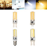 E14 G4 G9 4W COB2508 Dimmable Warm White Pure White LED Corn Light Bulb AC220-240V