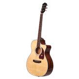 Morgan AT10-DC / AT10-GC A-class Sitika مفرد Board Acoustic نموذج 41 بوصة غيتار شعبي مبتدئ مبتدئ غيتار دخول مبتدئ وطالبة تعلم ذاتي آلات موسيقية