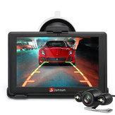 Junsun D100S 7 Inch Car 3D Navegação GPS Mointor Bluetooth com câmera de visão traseira Touch Map grátis