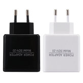 EU 5V 2.4A Dual USB Charger Power Adapter Intelligent Recognition For Smartphone Tablet PC