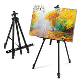 Folding Metal Easel Iron Adjustable Art Painting Tripod Easel Drawing Board Sketch Painting Tools Supplies