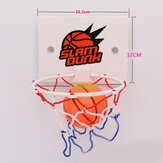 Min Basketball Stand Set Indoor Hoop Board Net Ring Hanging Basket Bath Toy Gift